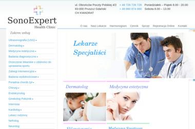 Sono-Expert Sp. z o.o. - Ortopeda Pruszcz Gdański