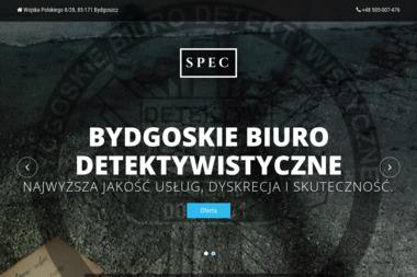 """Bydgoskie Biuro Detektywistyczne """"SPEC"""" - Detektyw Bydgoszcz"""