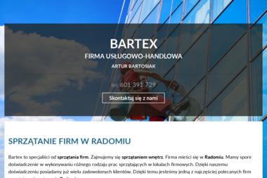 """""""Bartex"""" Firma Usługowo-Handlowa - Odśnieżanie dachów Radom"""