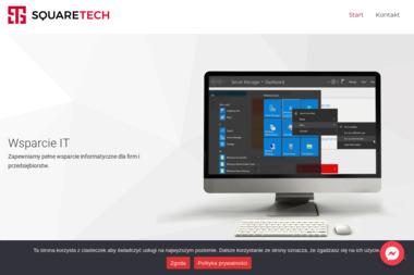 SquareTech - Strona Internetowa Skarżysko-Kamienna