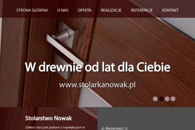 Stolarstwo Nowak - Okna Drewniane Leszno