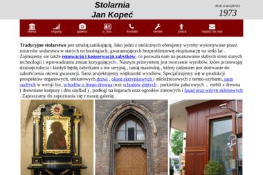 Stolarnia Jan Kopeć - Okna Drewniane Pasywne Baranów Sandomierski