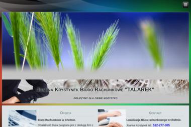 "Biuro Rachunkowe ""TALAREK"" - Usługi finansowe Chełm"