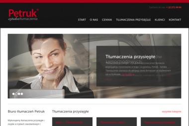 Petruk Sztuka Tłumaczenia - Tłumacze Myślenice