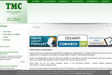 TMC Biuro Rachunkowe Kancelaria Doradcy Podatkowego - Prowadzenie Księgi Przychodów i Rozchodów Bytom