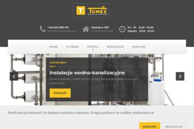 Tomex Instalacje Sanitarne - Instalacje Nieledew