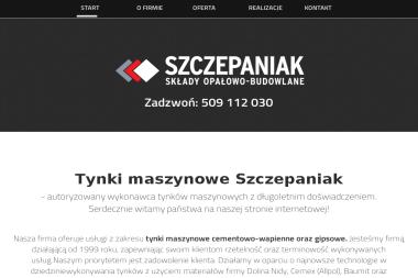 Tynki maszynowe Szczepaniak - Murowanie ścian Kurowice