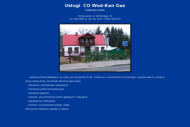 Usługi CO Wod-Kan Gaz - Instalacje Hrubieszów