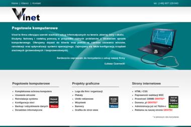 Vinet - Strony internetowe Jelenia Góra