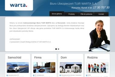 Biuro Ubezpiecze艅 TUiR WARTA S.A. - Ubezpieczenia Komunikacyjne Rzeszów