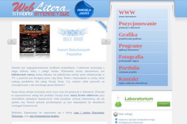 weblitera.pl Piotr Litera - Strony internetowe Mszana Dolna