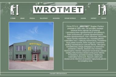 P.P.U.H. WROTMET - Ogrodzenia kute Pułtusk
