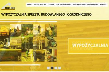 ZenitBau - Wypożyczalnia sprzętu budowlanego Koszalin