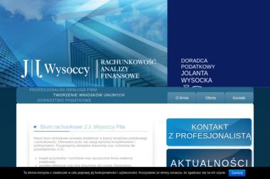 Firma J J Wysoccy Rachunkowość Analizy Finansowe Doradca Podatkowy Jolanta Wysocka - Prowadzenie Księgi Przychodów i Rozchodów Piła