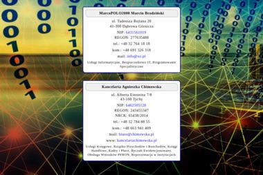 MarcoPolo2000. Agencja Reklamowa - Strony internetowe Dąbrowa Górnicza