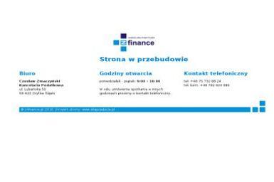 Kancelaria Podatkowa z Finance Czesław Zmaczyński - Usługi Księgowe Gryfów Śląski
