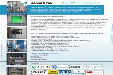 Zakład Automatyzacji Control Henryk Marzec - Adaptacja projektów Piła
