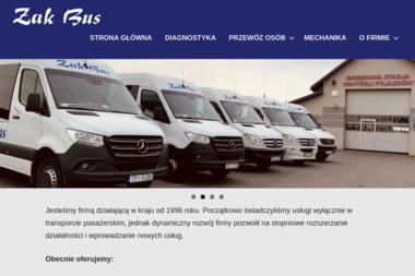 Żak-Bus Jacek Kurczyna. Diagnostyka pojazdów, wulkanizacja, przewóz osób - Przewóz Osób Busem Pasturka