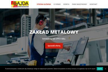 Zakład Metalowy Gajda Ryszard - Tokarz Zebrzydowa