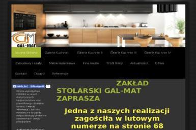 Zakład Stolarski Gal-Mat. Meble kuchenne, zabudowy - Wykonywanie Mebli Na Wymiar Zgierz