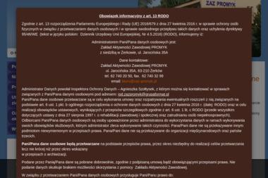Zakład Aktywności Zawodowej w Żerkowie - Drukowanie Żerków