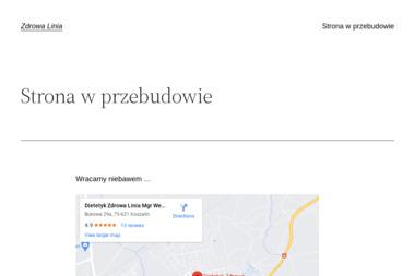 """Centrum Dietetyki i Promocji Zdrowia ,,Zdrowa Linia"""" - Dietetyk Koszalin"""