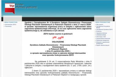 Zakład Ekonomiczno Finansowej Obsługi Placówek Oświatowych - Biuro rachunkowe Piekary Śląskie