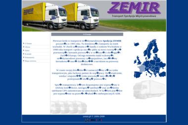 Zemir Transport Spedycja Handel Pawluk Mirosław - Transport Towarowy Szprotawa