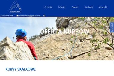 Zerwa Techniki Alpinistyczne - Firma Alpinistyczna Międzyrzec Podlaski