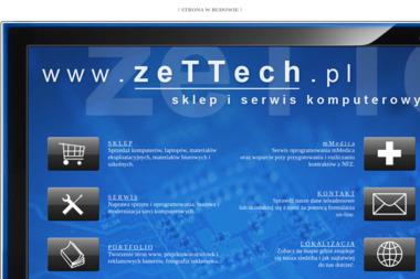 Sklep i serwis komputerowy zeTTech - Serwis komputerowy Dębica
