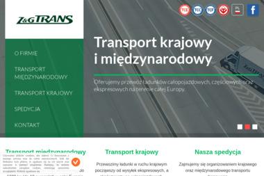 Z&G Trans Pysz Sp. z o.o. - Firma transportowa Żory