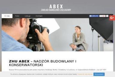 Zakład Handlowo-Usługowy Abex inż. Andrzej Borek - Murarz Mysłaków