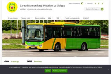 Zarząd Komunikacji Miejskiej w Elblągu Sp. z o.o. - Przewóz osób Elbląg