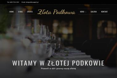 Sala Bankietowa Z艂ota Podkowa - Catering Maszewo Du偶e