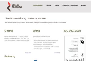 Zakład Metalowy S.C. Anna i Stefan Babińscy - Ślusarz Mielec