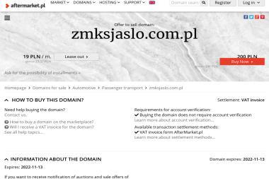 Zakład Miejskiej Komunikacji Samochodowej - Transport Całopojazdowy Jasło