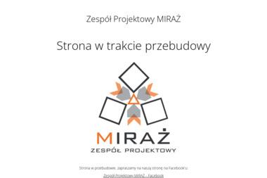 Zespół Projektowy Miraż. Projektowanie wnętrz, architektura wnętrz - Architekt Jatutów