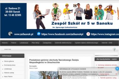 Zespół Szkół Nr 5 im. Ignacego Łukasiewicza - Cukiernia Sanok