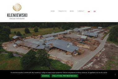 Zakład Tartaczny. Waldemar Kleniewski - Market Budowlany Adamów