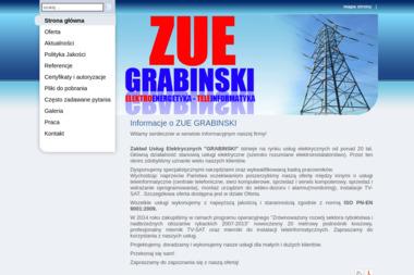 Zakład Usług Elektrycznych Grabiński. Włodzimierz Grabiński - Elektryk Więcbork