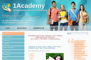 1Academy - Nauczyciel Angielskiego Michałowice