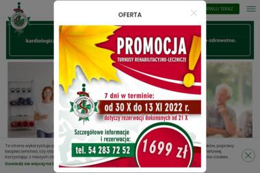 22 Wojskowy Szpital Uzdrowiskowo-Rehabilitacyjny Samodzielny Publiczny Zakład Opieki Zdrowotnej - Internista Ciechocinek