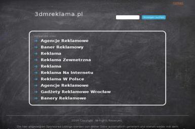 3Dm Studio Reklamy Marcin Baran - Agencja Reklamowa Przemyśl