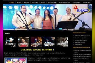 4 Band. Oprawa muzyczna, zespół muzyczny - Zespół muzyczny Rokitno Szlacheckie