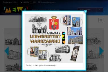 Gadżety, upominki, mała poligrafia. Mewa. Grzegorz Fimowicz - Agencja marketingowa Suwałki