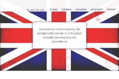 A-Z English-Angielski w Zalesiu - Język Angielski Zalesie Górne
