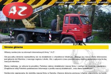 AZ FPHU. Roboty ziemne, roboty drogowe, wyburzenia - Wyburzenia Sanok