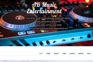 AB Music Entertainment. Dj, wodzirej - Zespół muzyczny Ząbki