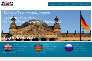 ABC Szkoła Języków Obcych - Kurs rosyjskiego Dobre Miasto