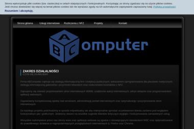 ABComputer Andrzej Bachorz - Strony Internetowe Pleszew